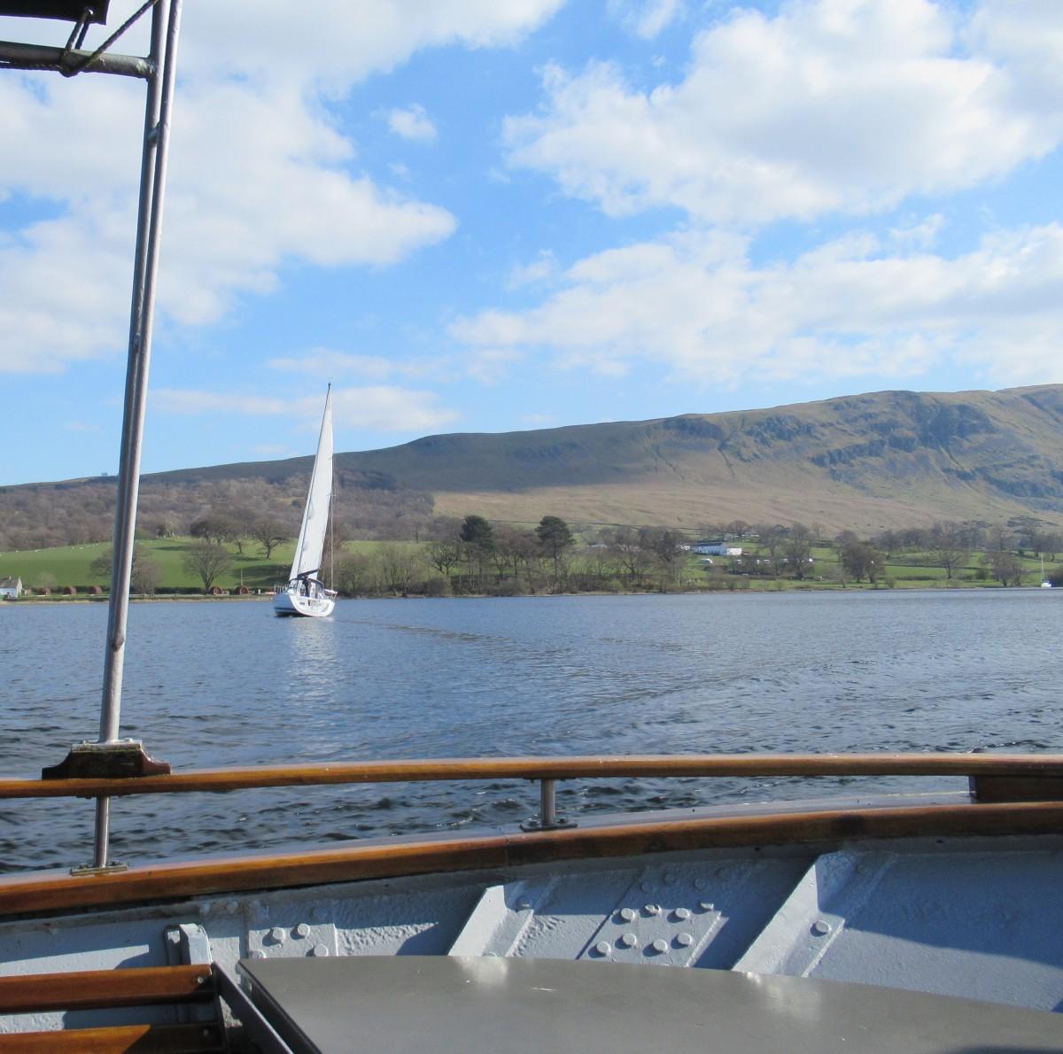 Sailing under Sweeping Skies