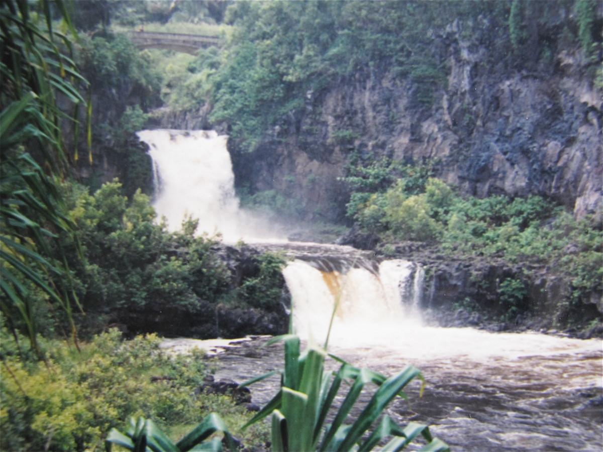 Sacred pools of Ohe'o Gulch