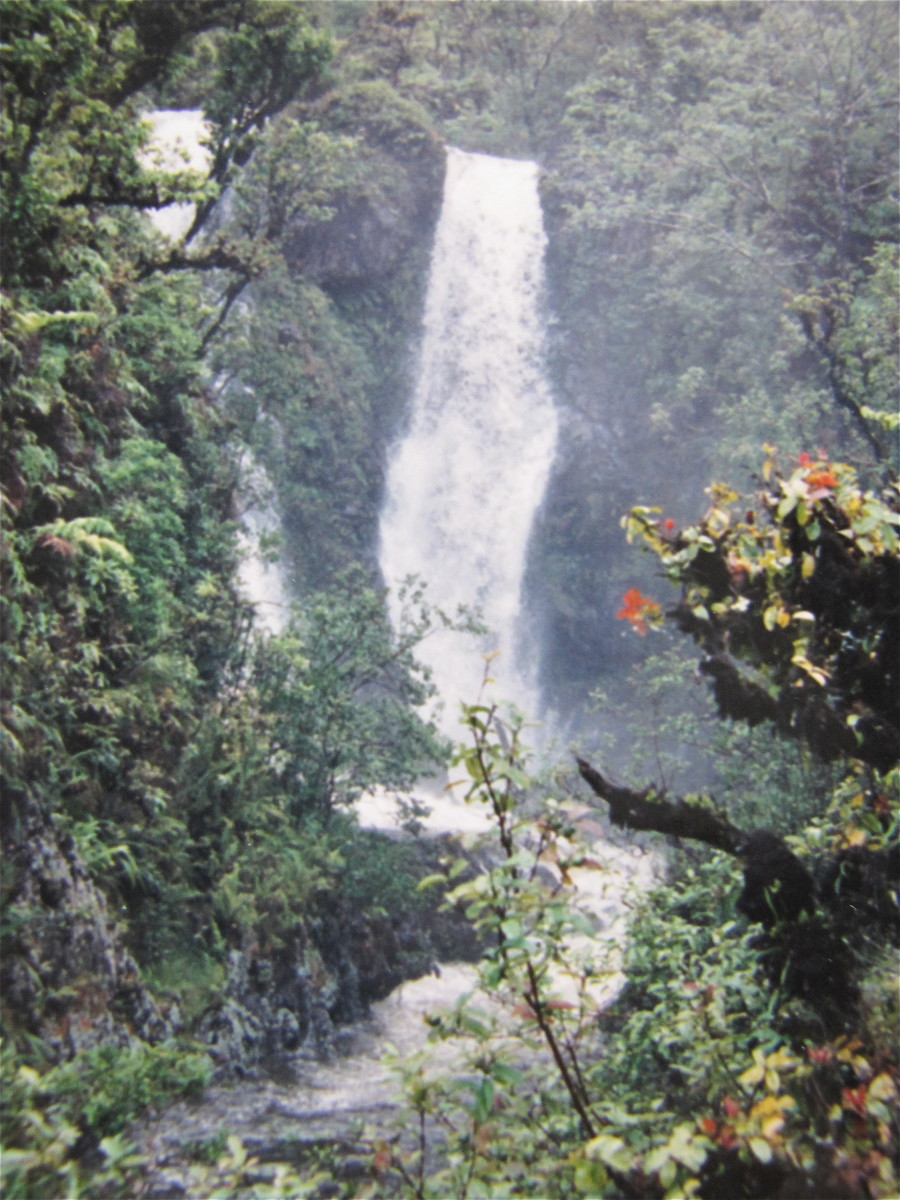 Another beautiful waterfall on the Road to Hana.
