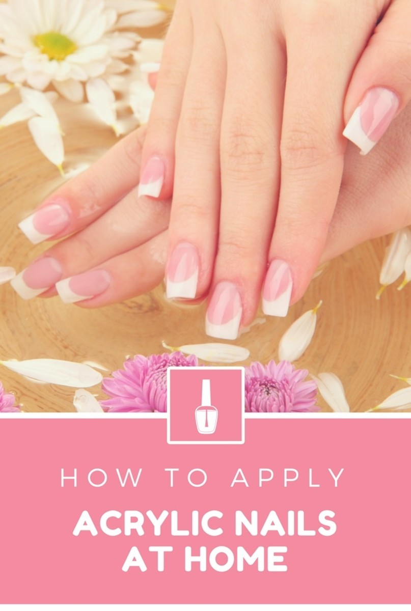 How To Apply Acrylic Nails At Home | HubPages | 520 x 774 jpeg 59kB