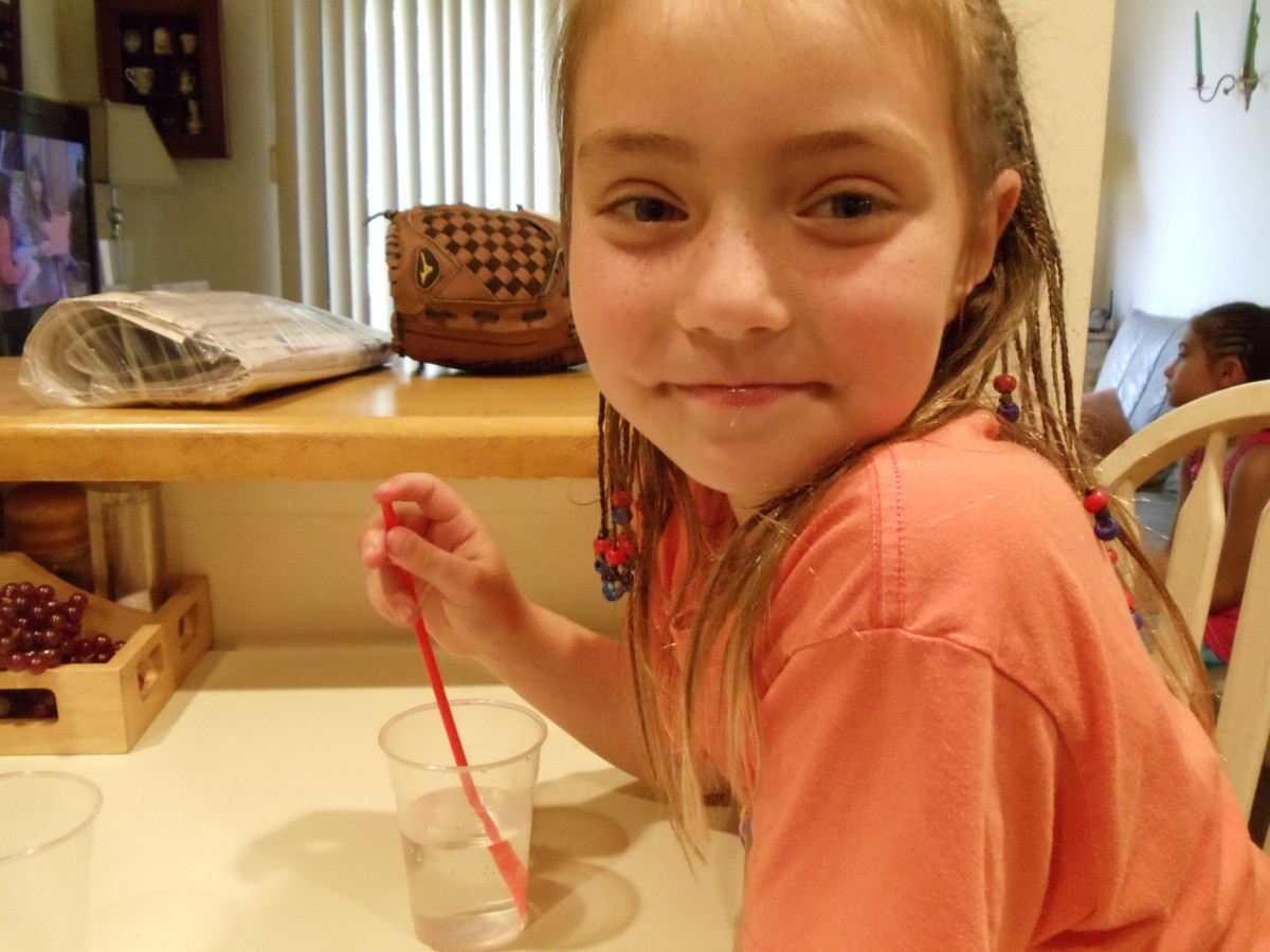 I love learning about straws and air pressure!