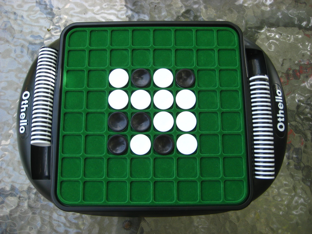 Othello Game (aka Reversi) -- Strategy Tips