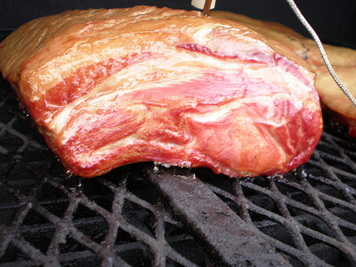Brined and Smoked Pork Loin Recipe