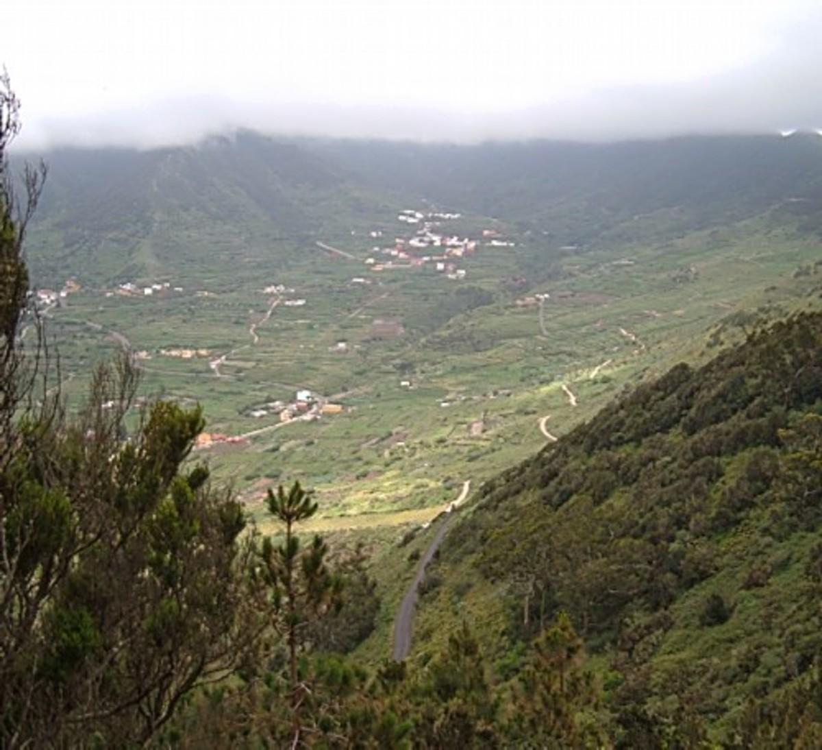 View over El Palmar