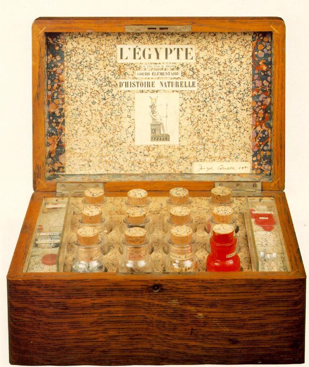 Guide to the Strange Boxes of Joseph Cornell