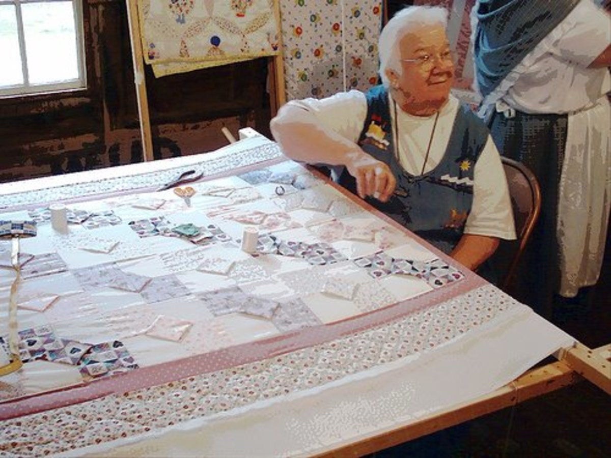 build your own machine quilting frame