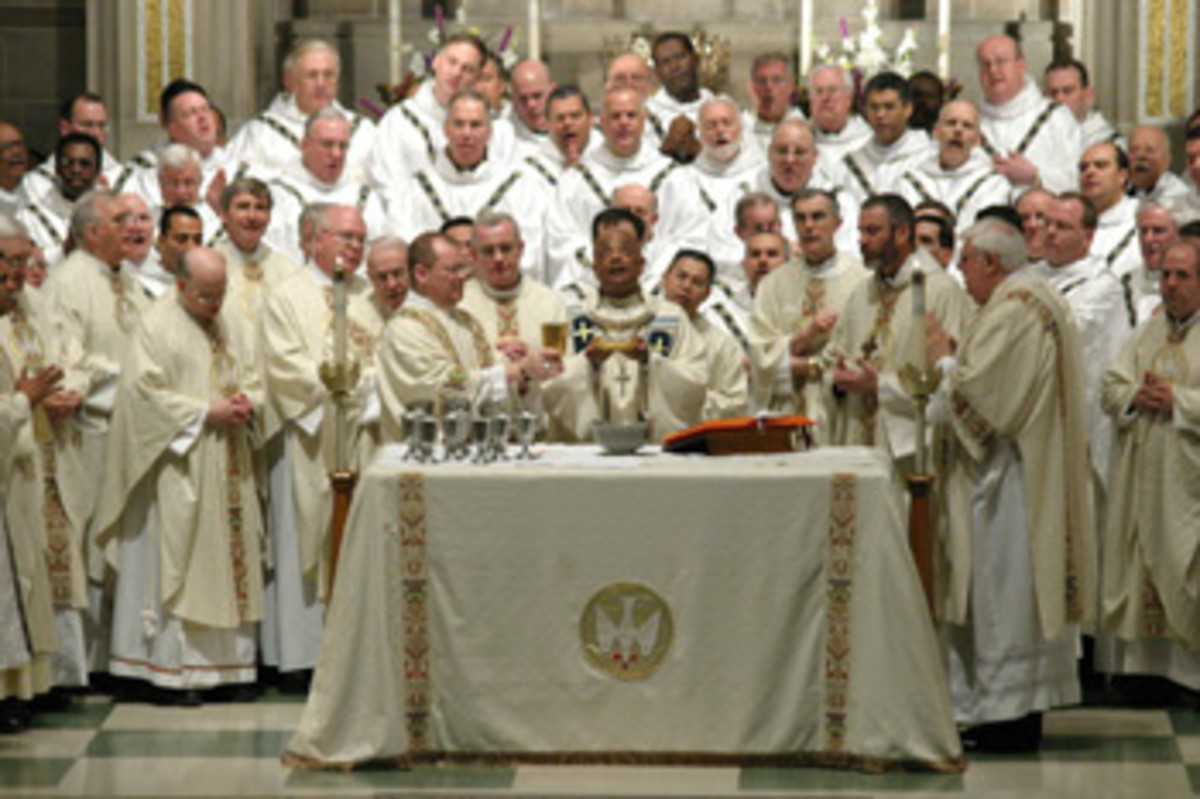 Chrism mass of the CAtholic church