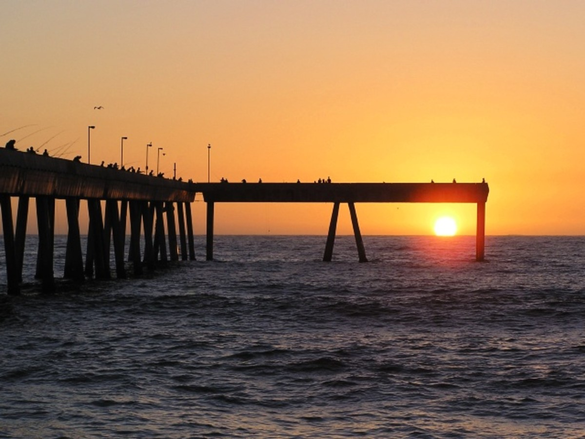 Angling at the pacifica pier in northern california for Pacifica pier fishing report