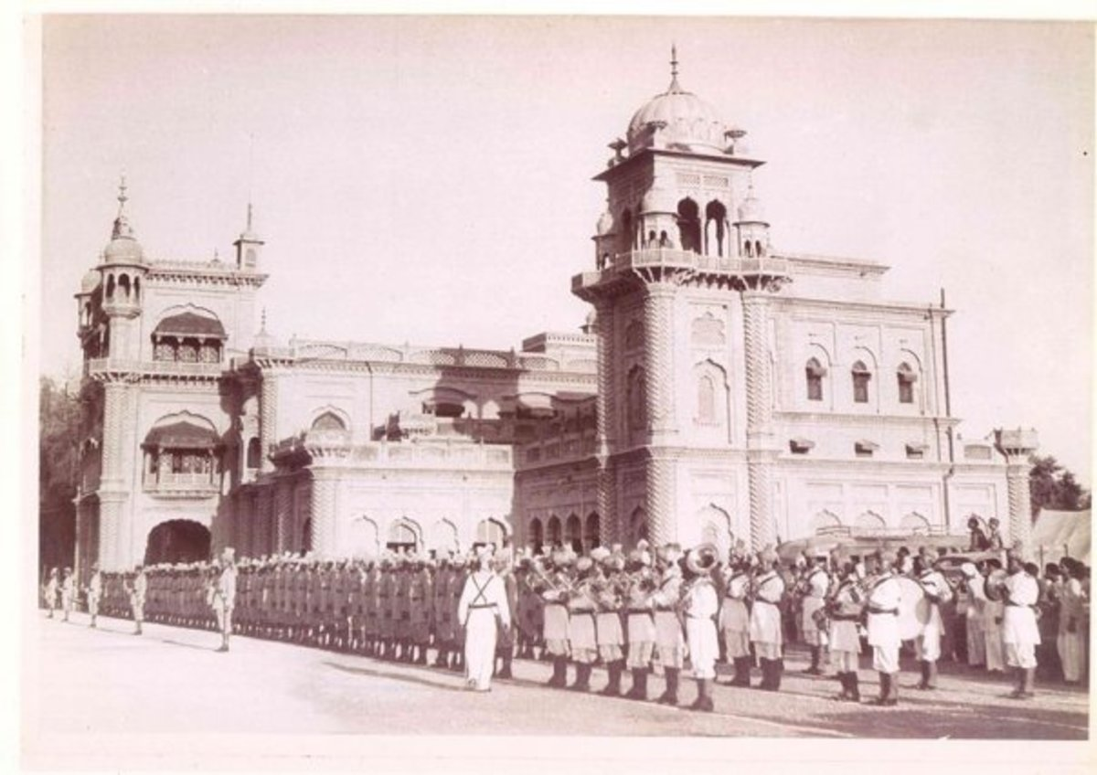 old picture of FAIZ MAHAL