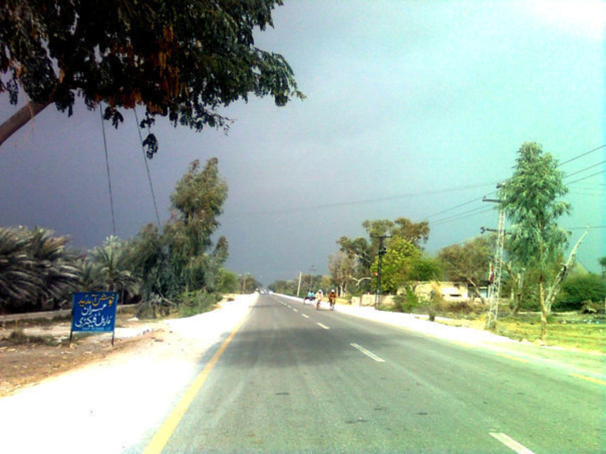 weather of Khairpur in Winter