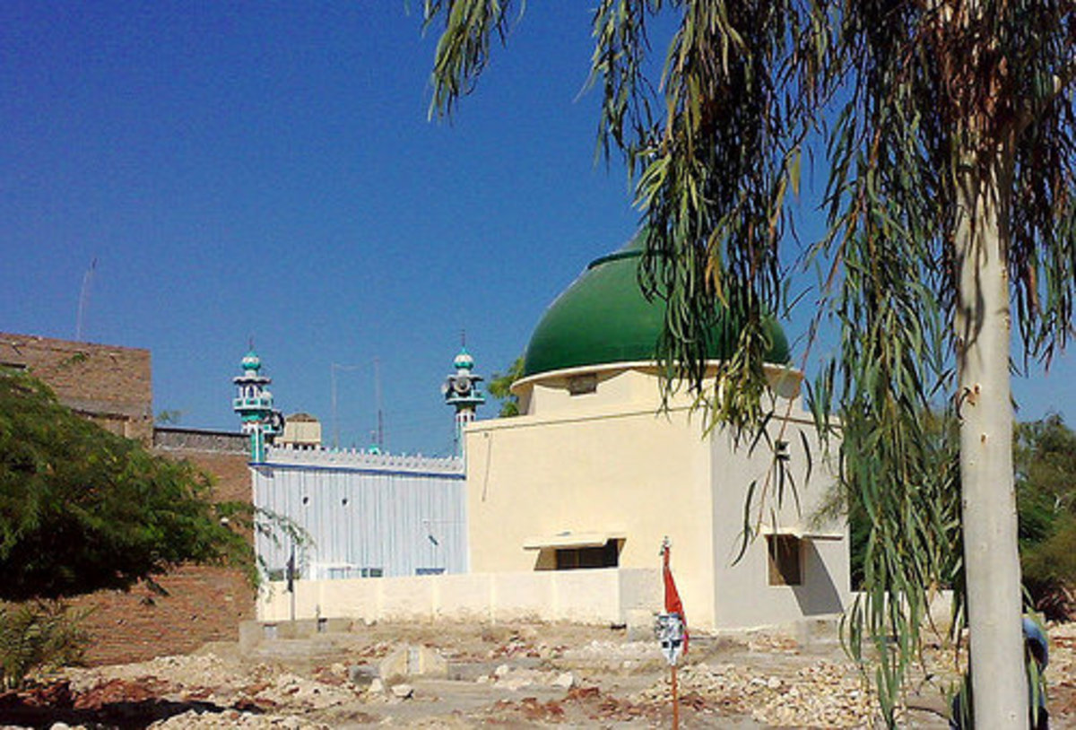 Bhukari Peer shrine