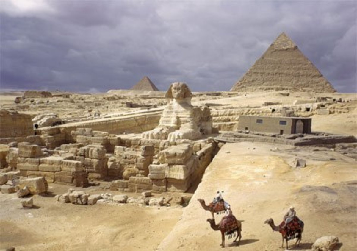 Egypt Pyramids - Secret Information, Knowledge, and Wisdom