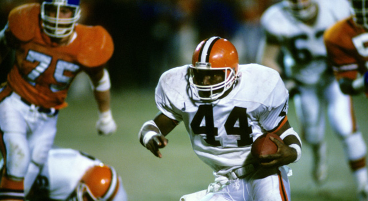 MPS/NFL Earnest Byner's fumble resulted in a second consecutive heart-breaking loss for Cleveland in the AFC title game.