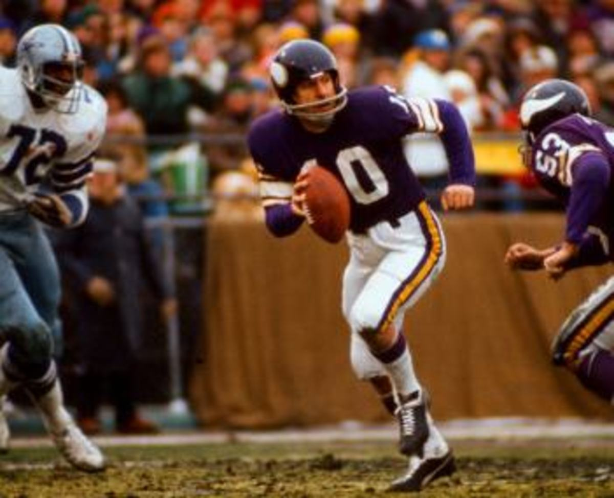 Fran Tarkenton Minnesota Vikings 1975