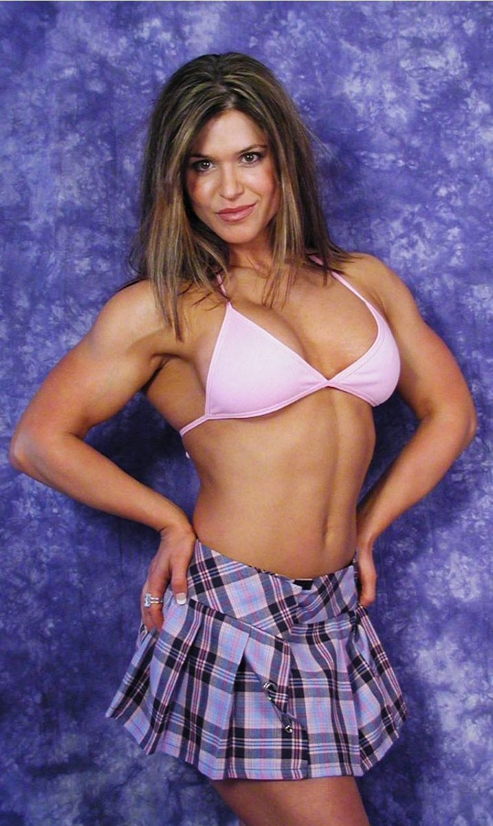 Canadian IFBB Pro figure competitor Debbie Leung
