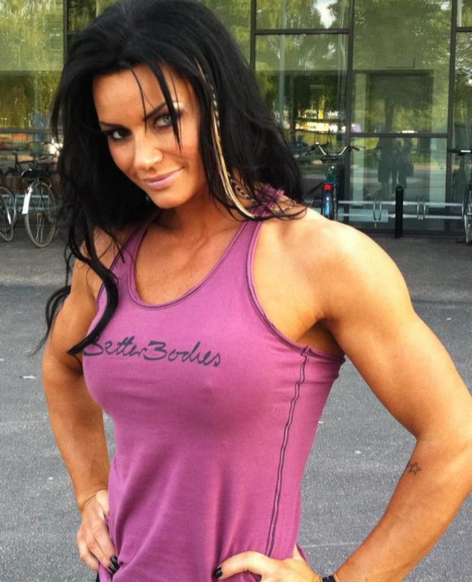 Swedish Figure Pro Cecilia Benjaminson