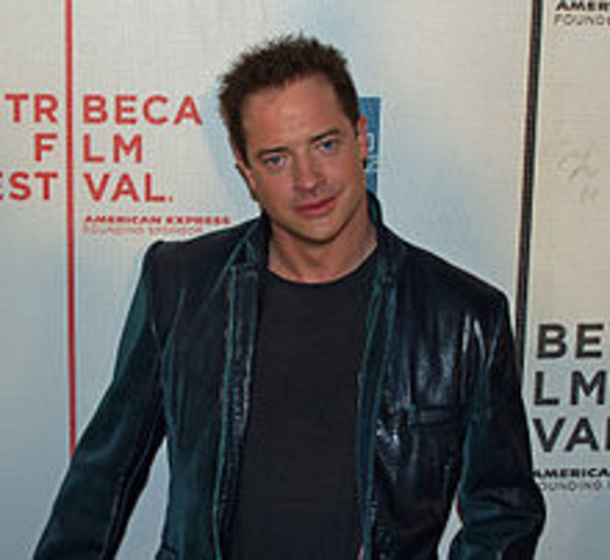 Brendan Fraser  -- courtesy of wikipedia