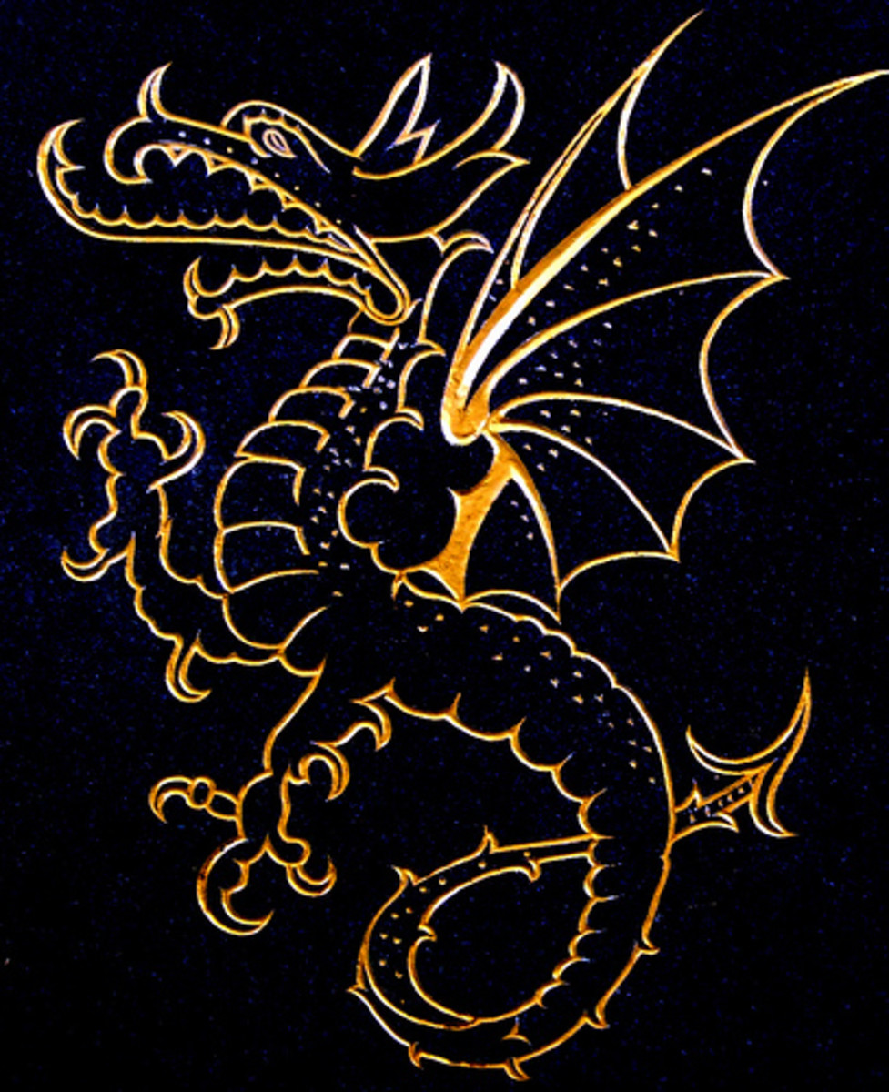 Western Dragon Mythology