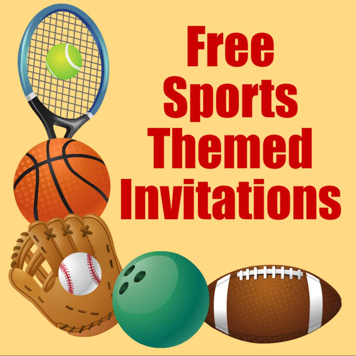 sports-invitations