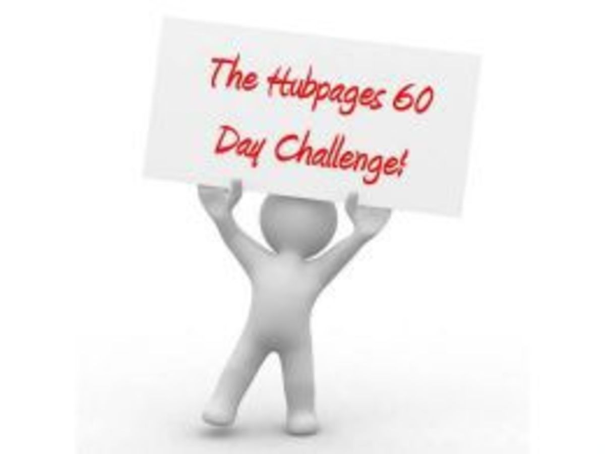 from the hub of theblackedition - Increase-Readership-And-Revenue-The-Hubpages-60-Day-Challenge
