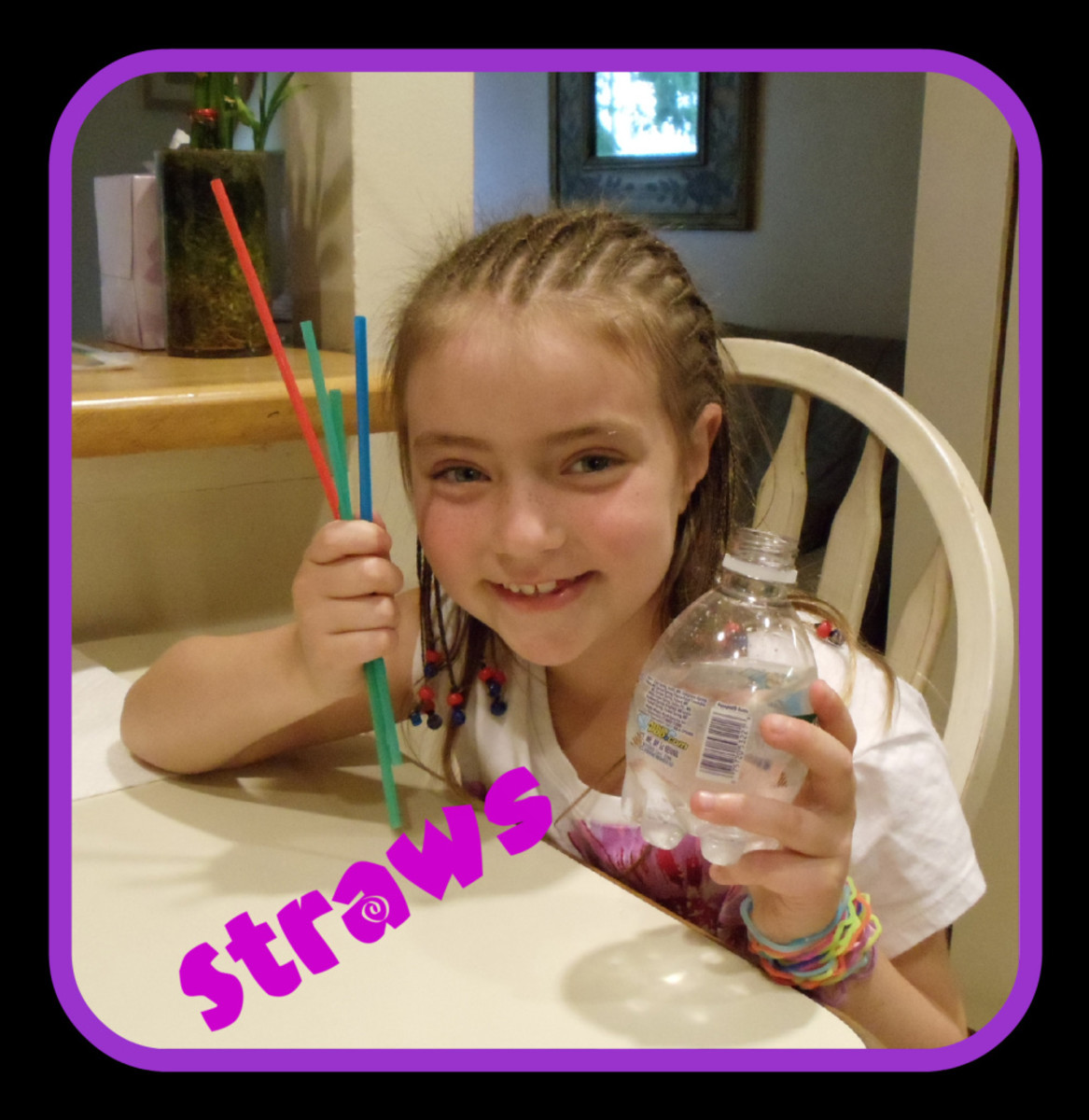 Science Experiments with A Drinking Straw