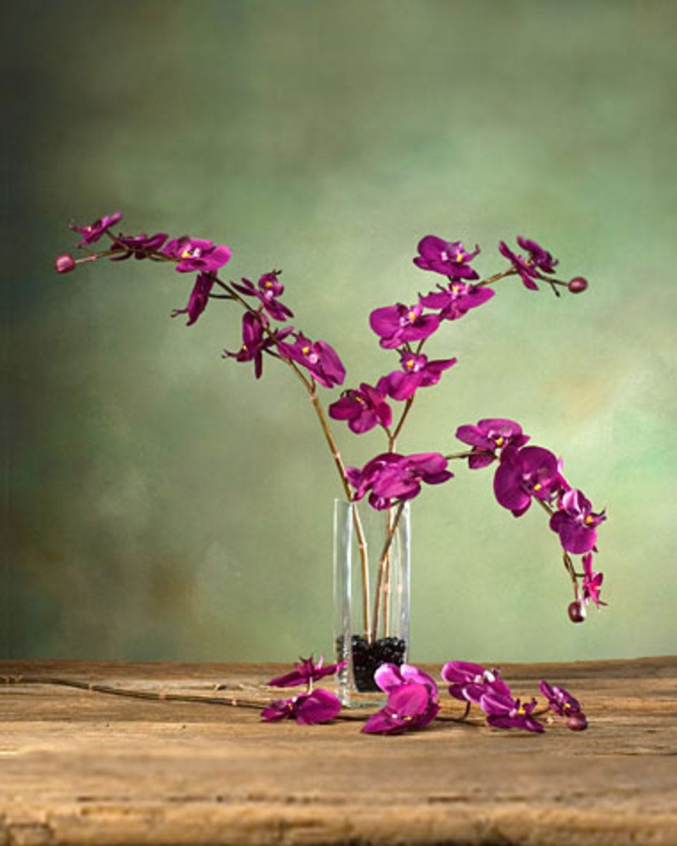 Artificial silk plants and silk flowers bring the outdoors into your home