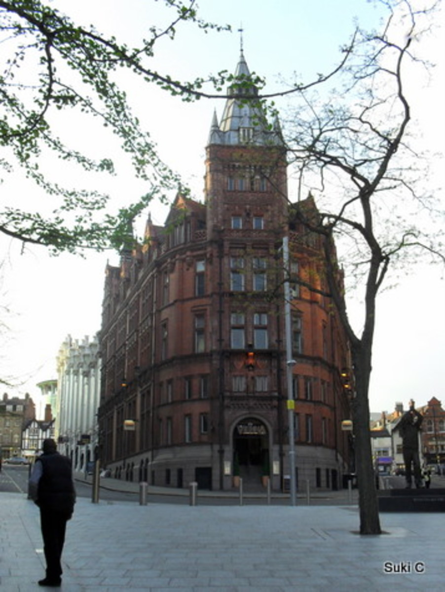 One of the magnificent Watson Fothergill buildings to be found in the city