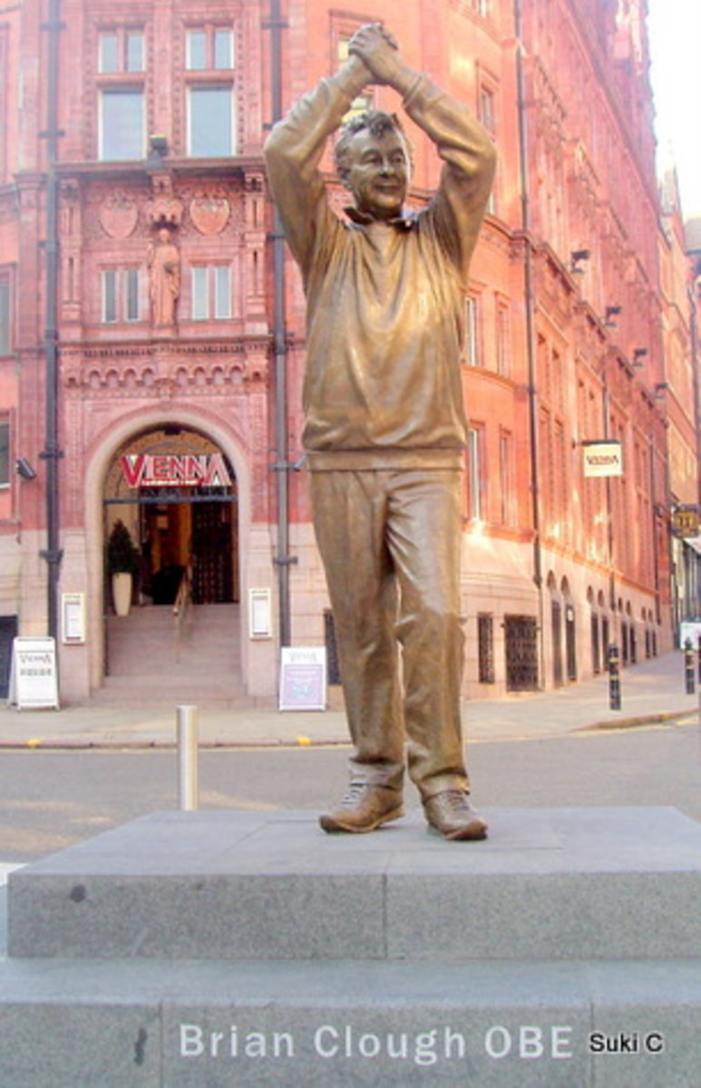 A tribute to the famous Brian Clough