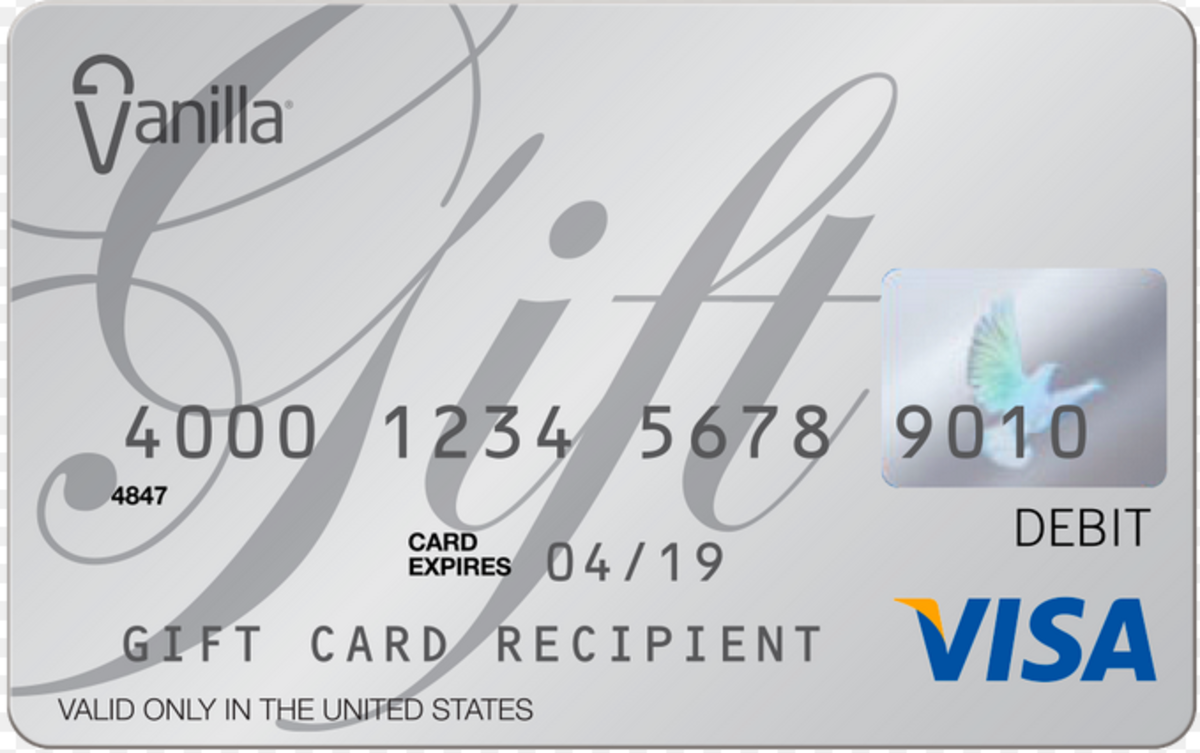 How to Link Visa Vanilla Gift Cards to PayPal | HubPages