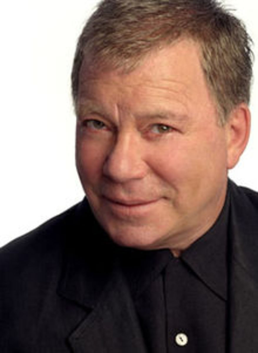 William Shatner  -- courtesy of wikipedia