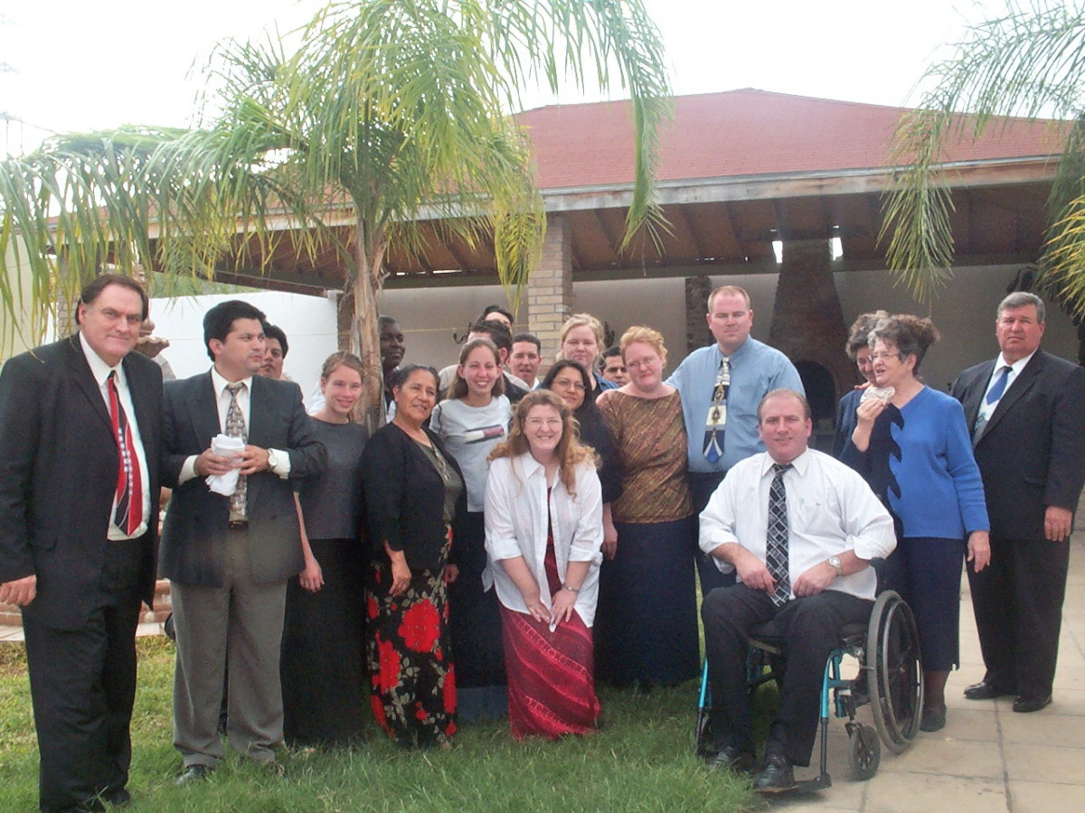 Clark in Mexico on missions crusade with group