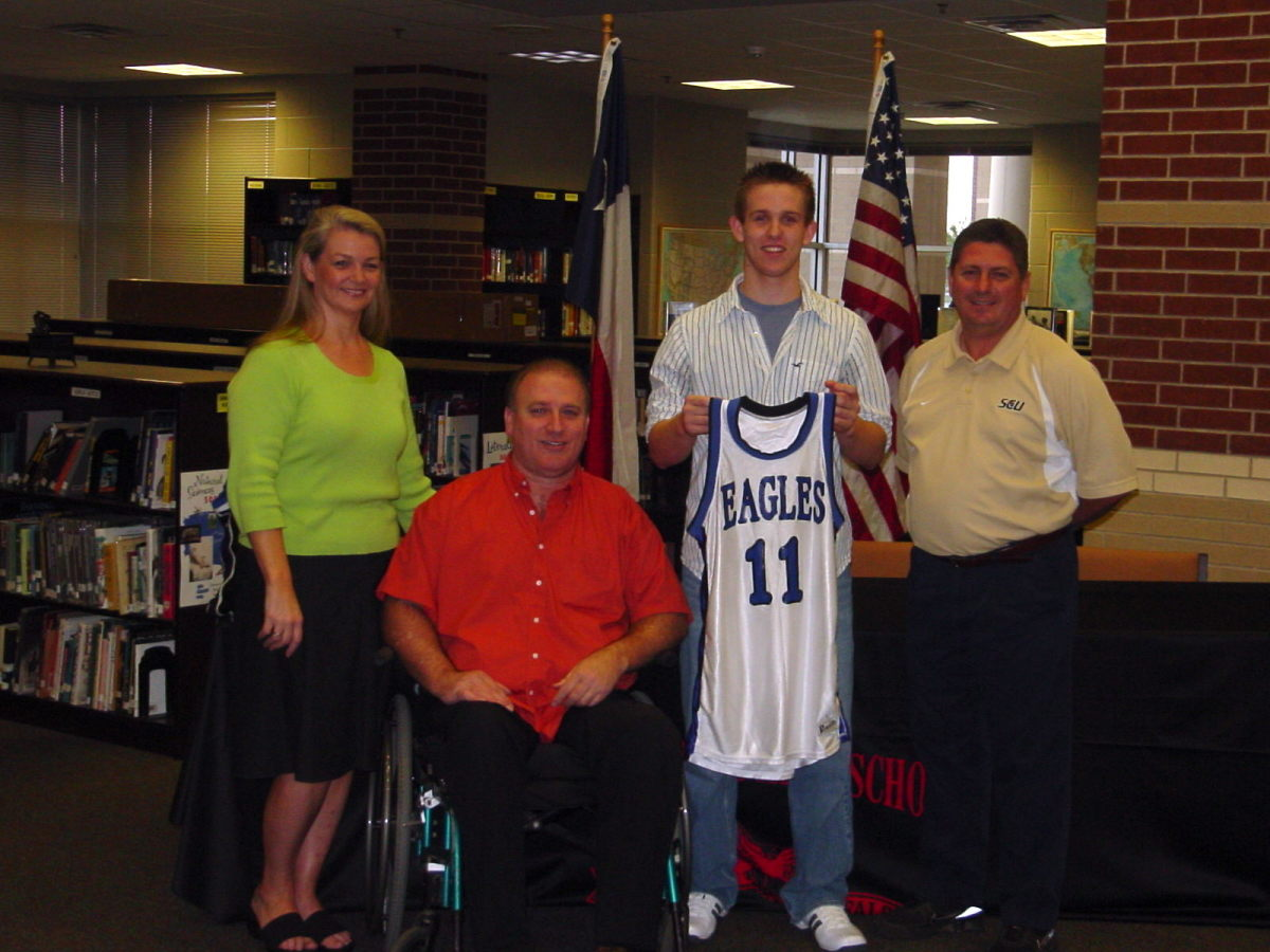 Signing to play basketball in Oklahoma