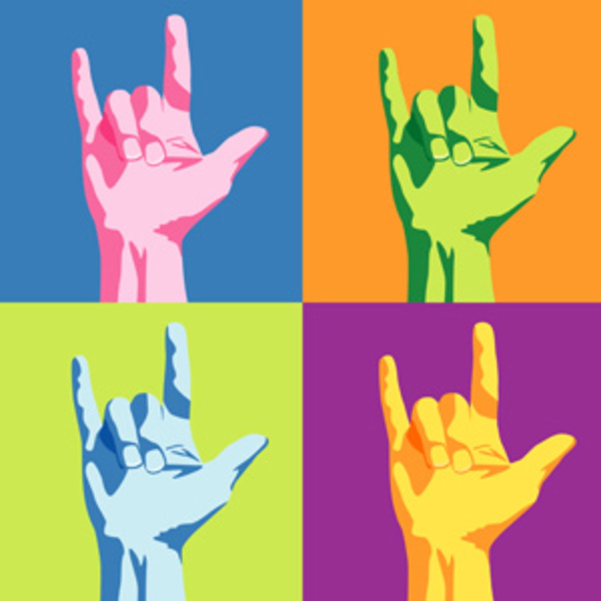 Sign language words & phrases: British and American signs
