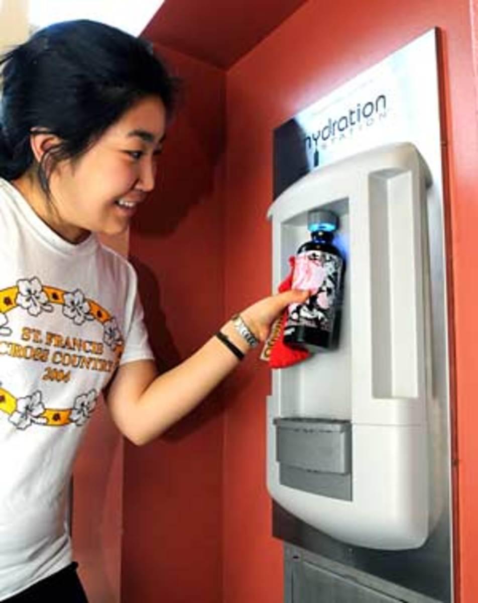 Hydration Station at Berkely.edu
