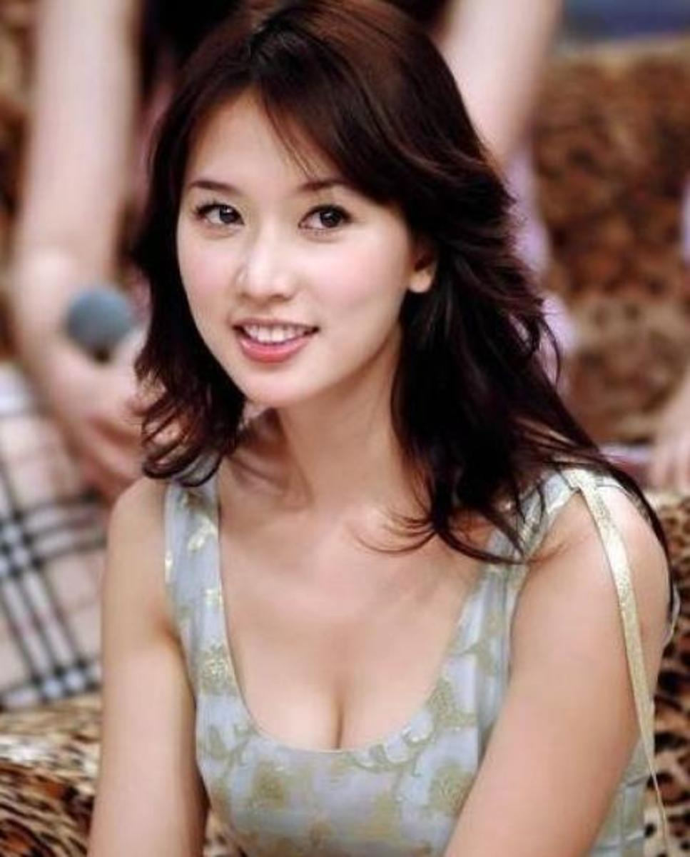 A Chinese Girl. Chinese Have Very Beautiful Women