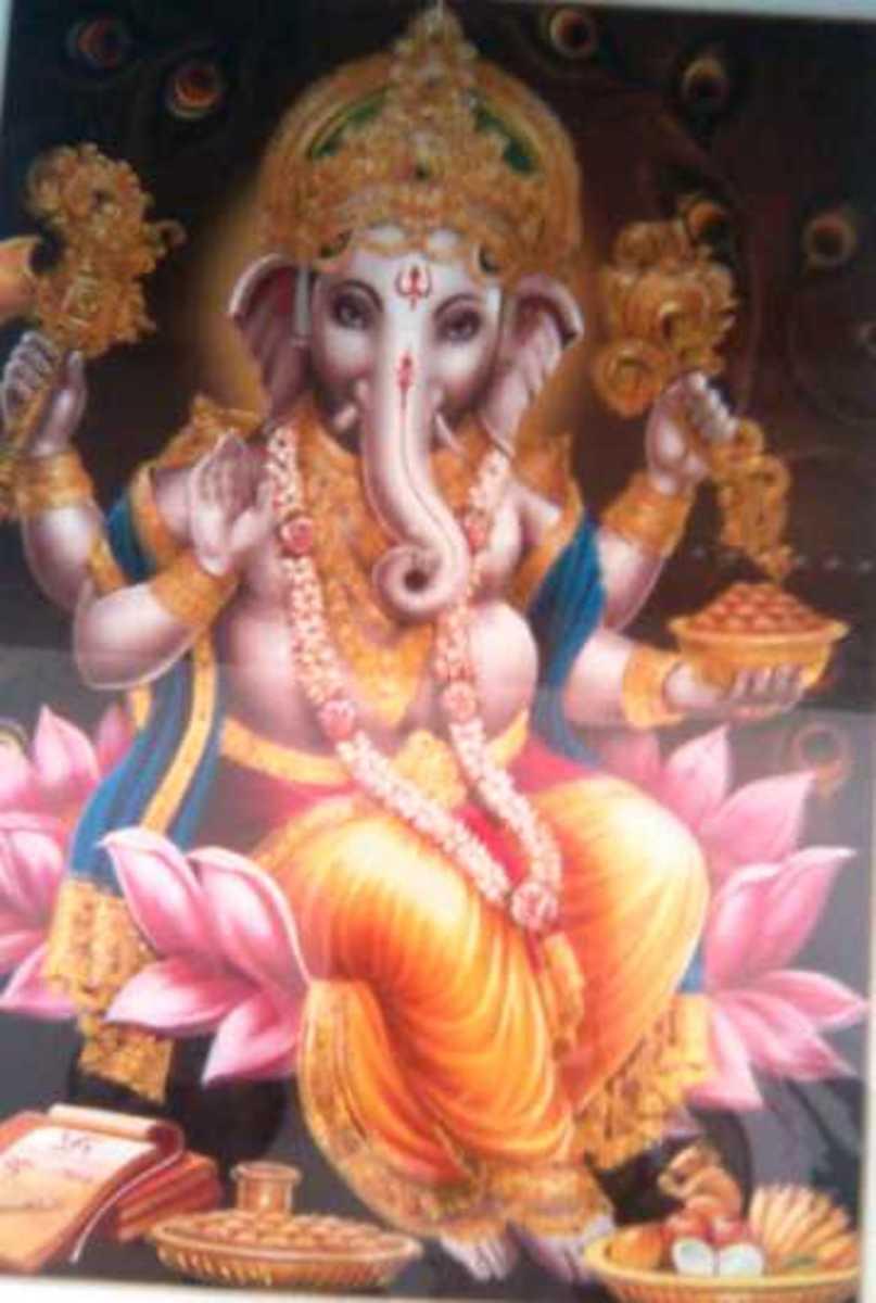 Indian Ganesha (Vinayaka) Chaturthi Festival
