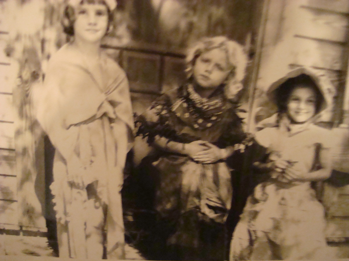 My friends Judy, Me in the middle and Edie by me on the right.