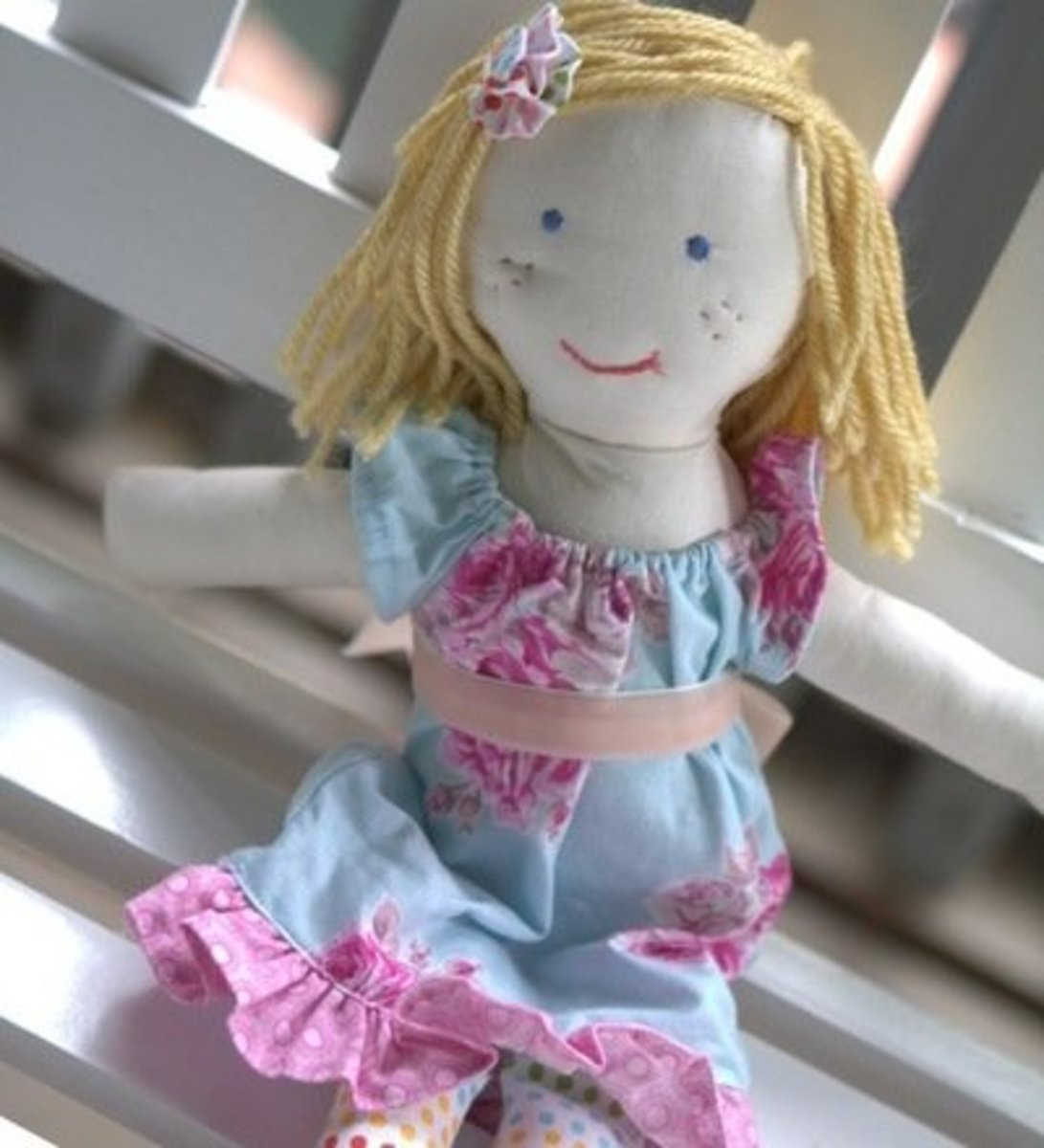 27 All Free Doll Making Patterns Hubpages