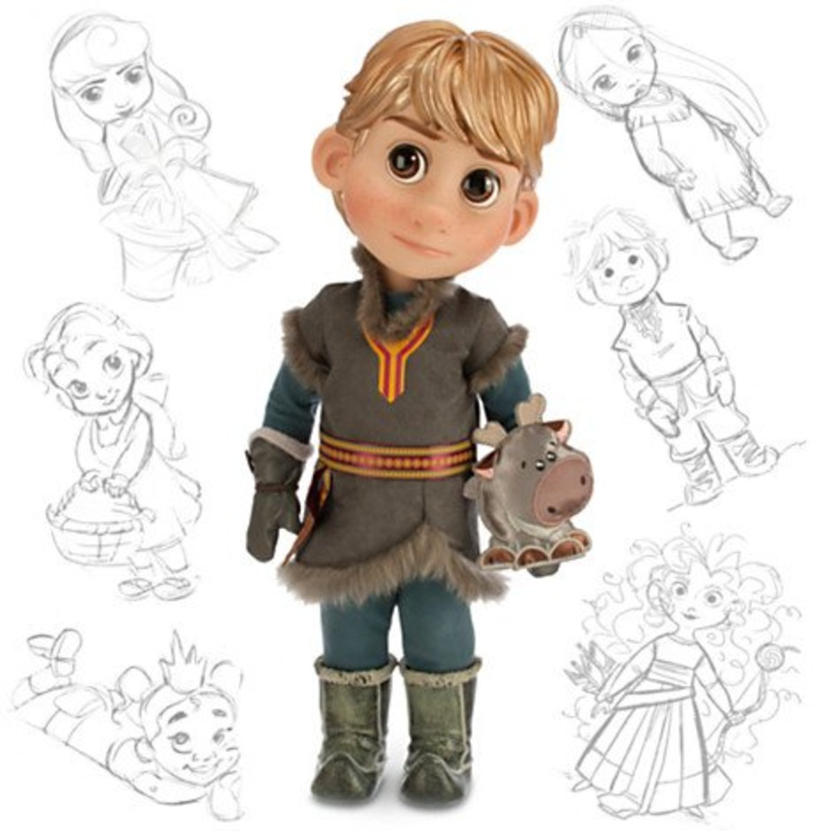 Disney Animator's Collection Kristoff Doll available at amazon.