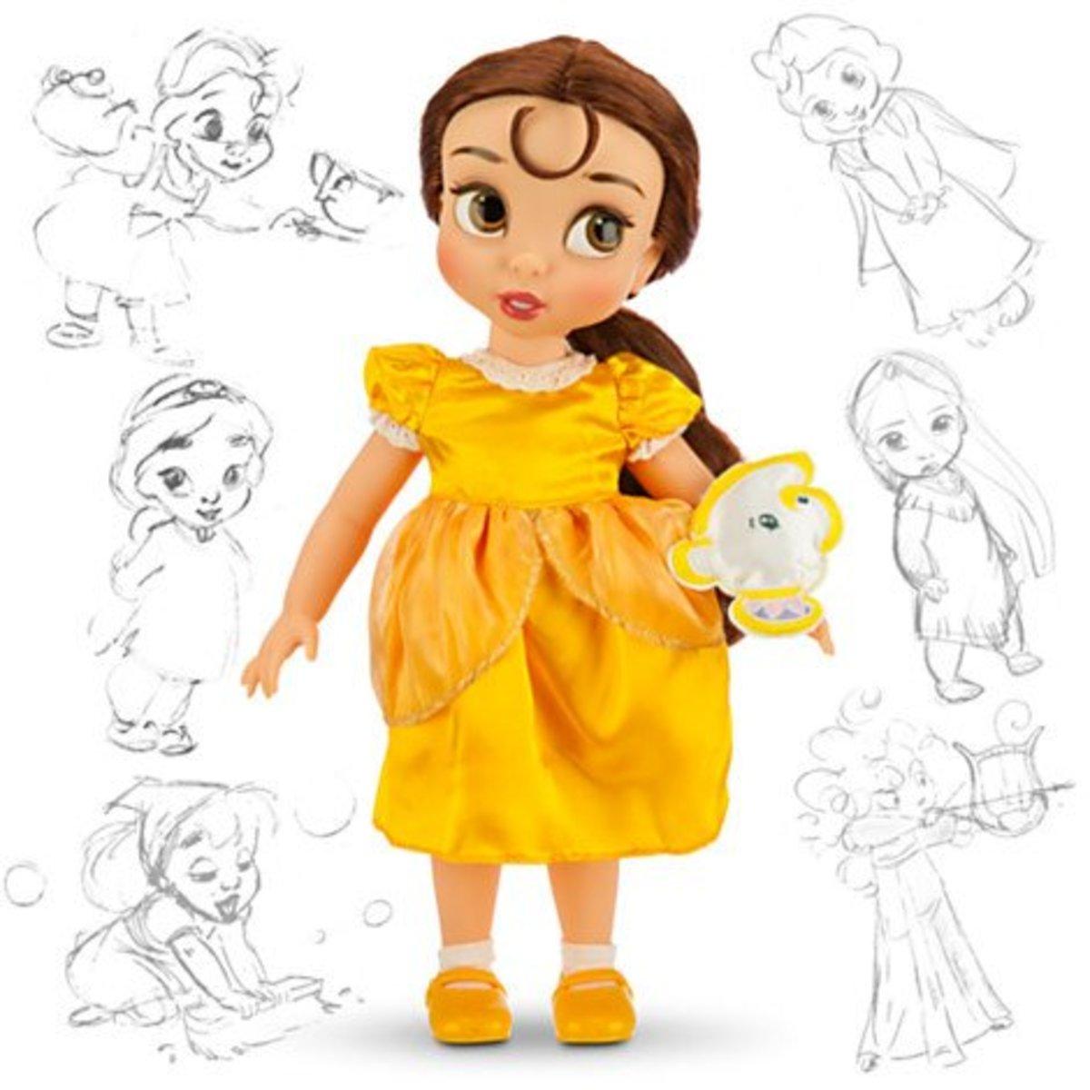 Belle Disney Animators Collection Doll