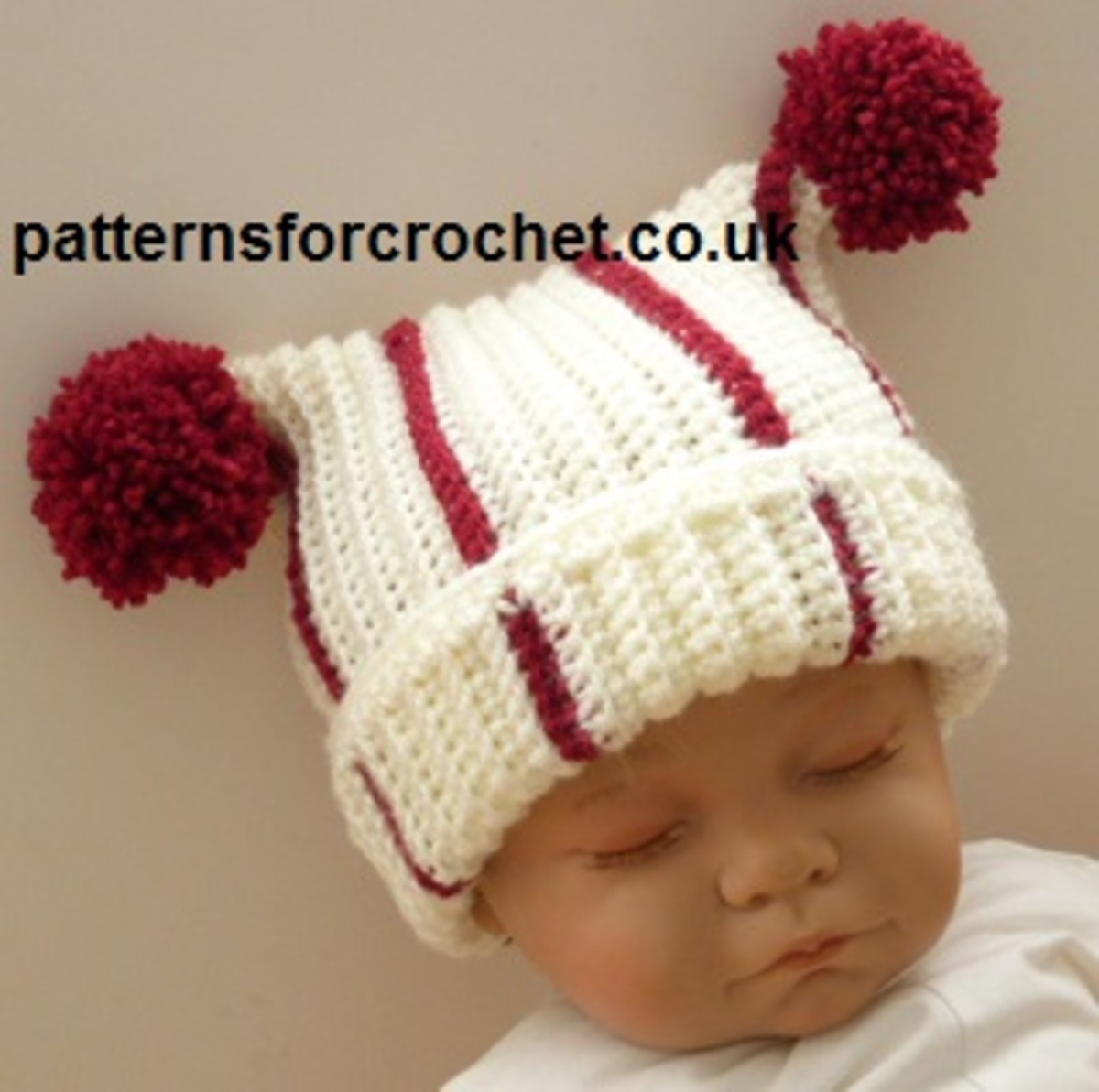 Crochet Newborn T-Bag Hat