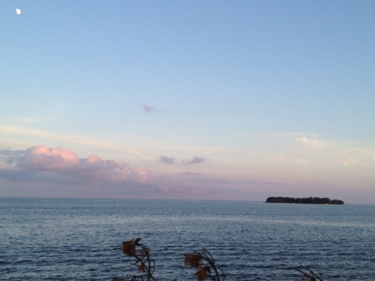 Dusk over Long Island Sound!