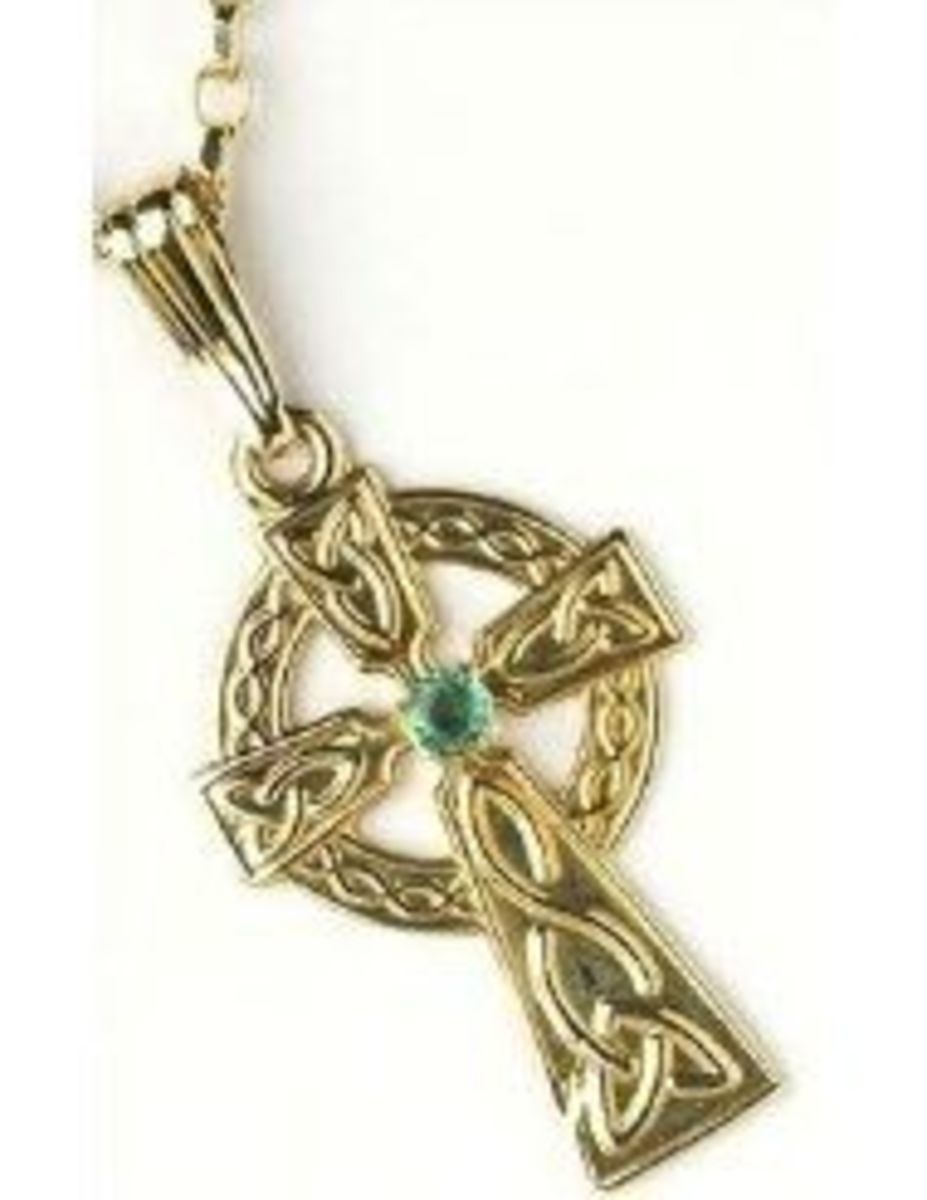 Here's just one of the many beautiful Celtic Cross Necklaces you can find at Amazon.  Image is from Amazon and is available for sale on this page.