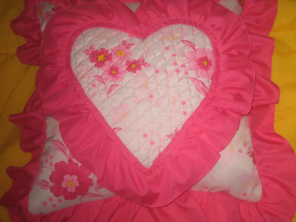 The Pillow Project of Mikaela Faye Nodalo - the daughter of my cousin (Photo by Travel Man)