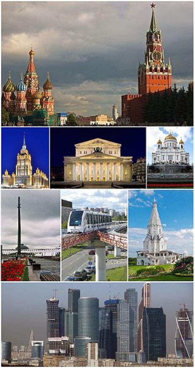 Moscow, the capital of Russia