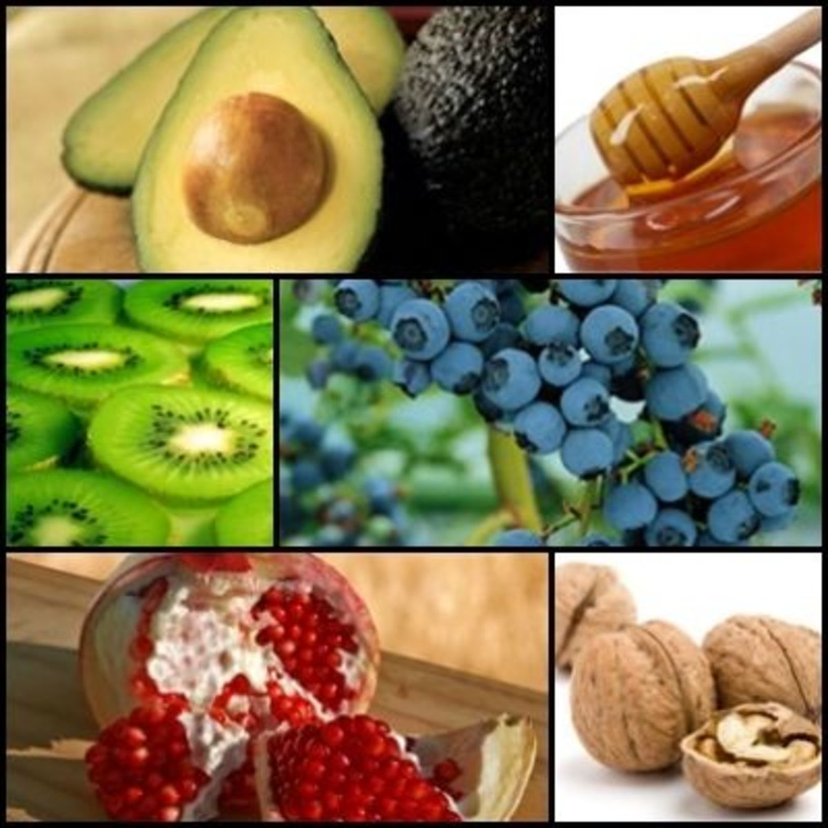 The Super Food Collage