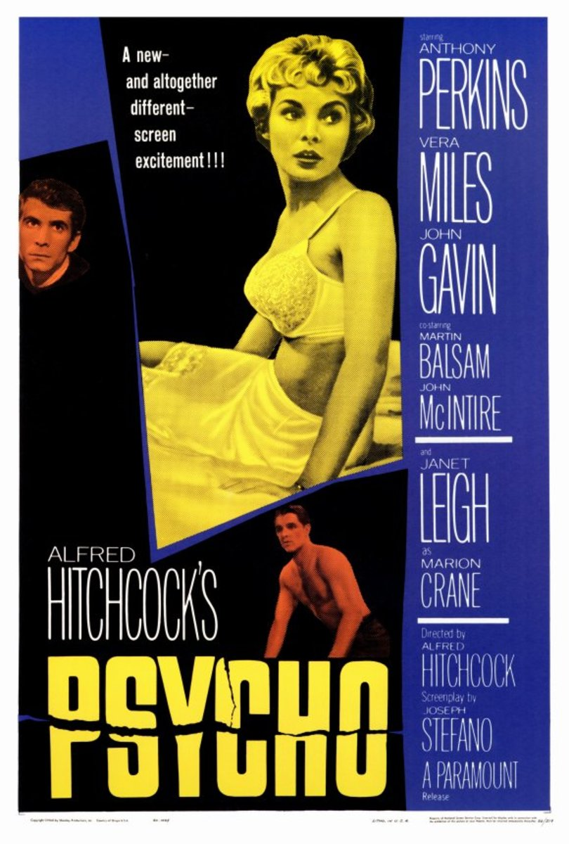 Psycho (1960) - Illustrated Reference