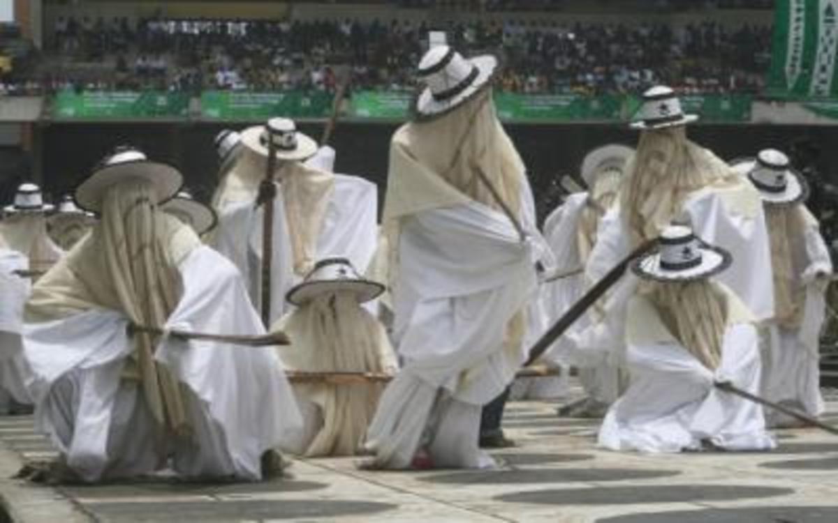 Eyo Masquerades