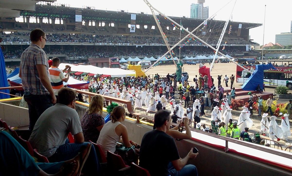Tourist Attraction in Lagos, Nigeria: Eyo Festival (Adimu Orisa Play)