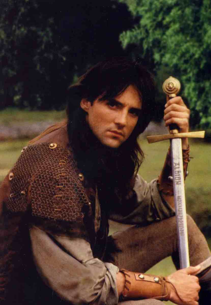 Michael Praed As Robin of Sherwood Now ask me why I liked him! Go on I dare you!